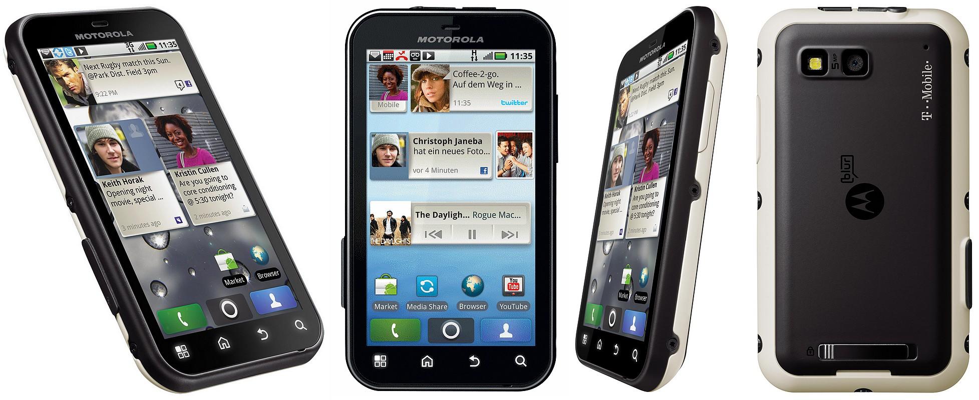 Motorola Defy, cu tripla rezistenta, a intrat la Cosmote