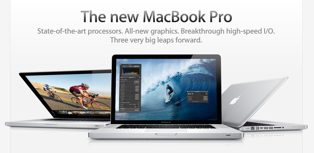 Apple adopta si el Sandy Bridge!