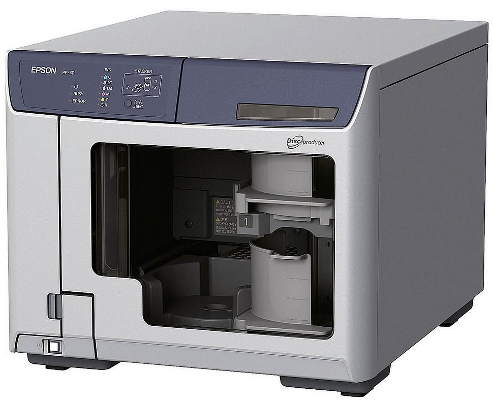 Epson a lansat PP-50, pentru imprimarea CD-urilor si DVD-urilor