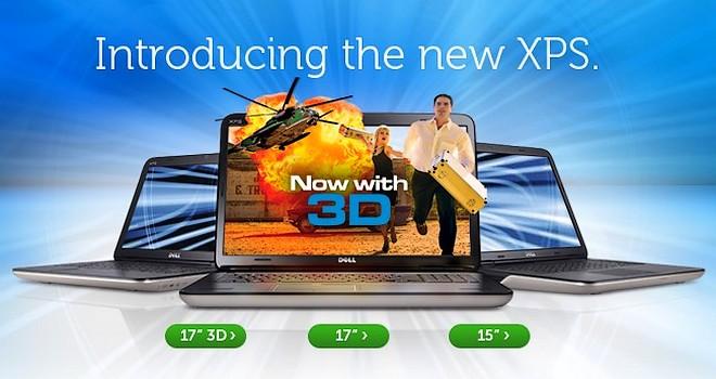 Dell face actualizari la varf: XPS