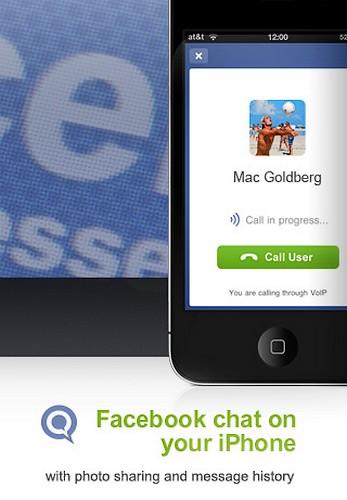 Facebook chat pe iOS