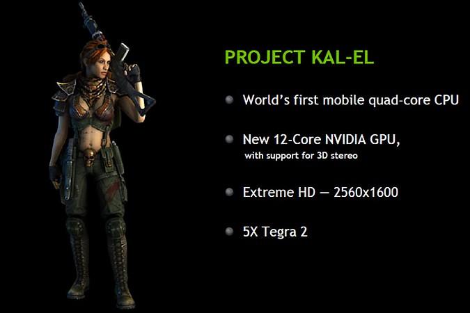 NVIDIA a anuntat Kal-El: din august tabletele vor include procesoare quad-core