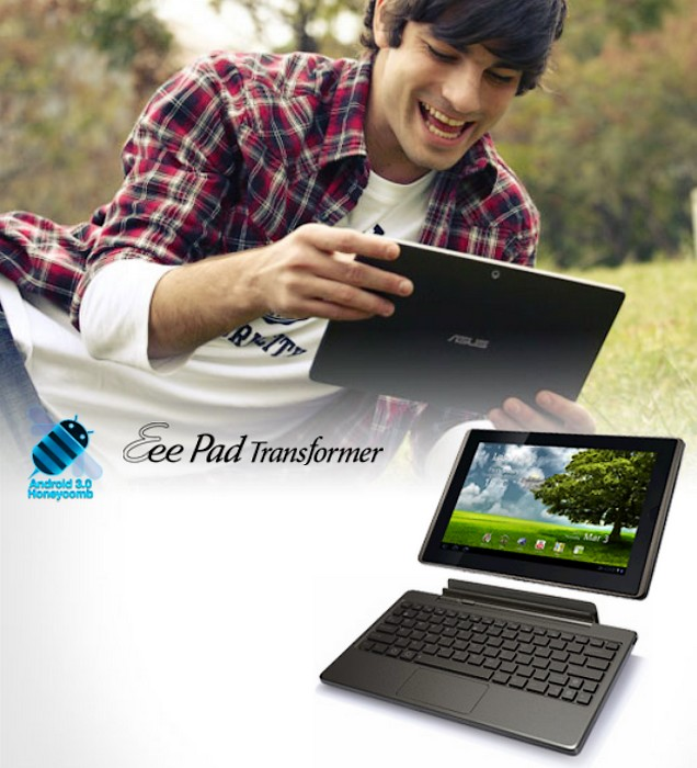 Asus Eee Pad: De la Windows 7 la Honeycomb
