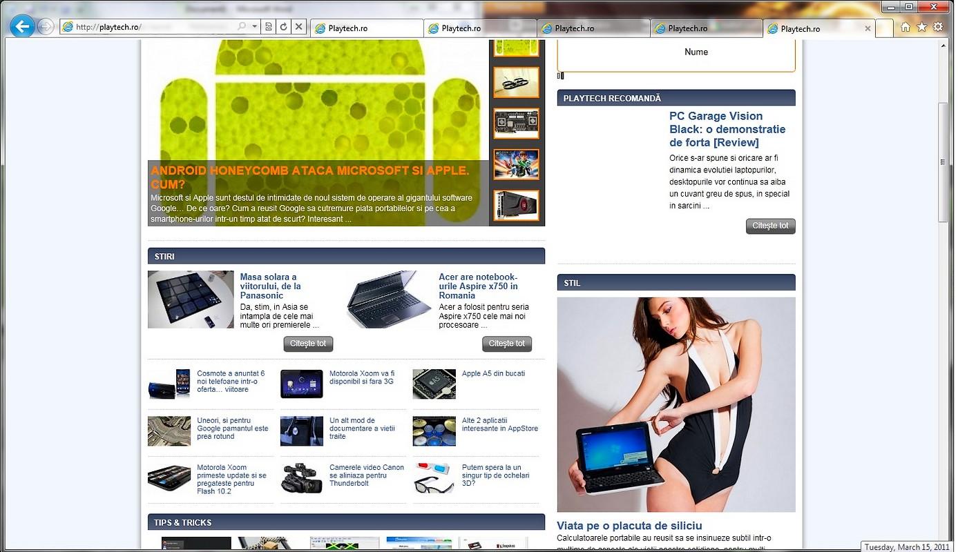 Internet Explorer 9 a ajuns final