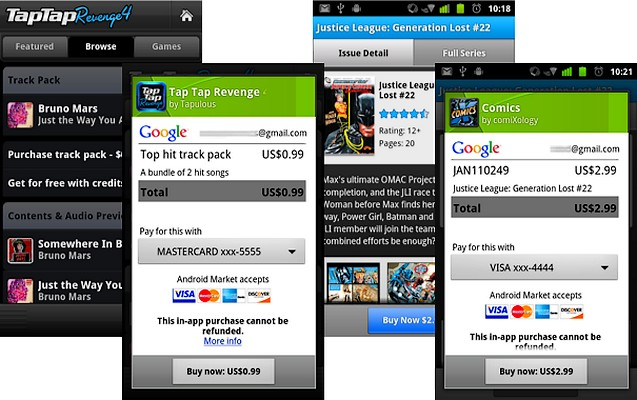 Inca un mod de a da bani: Android InApp Purchase