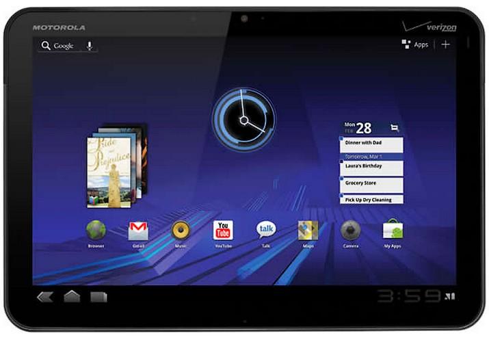 Motorola Xoom va fi disponibil si fara 3G