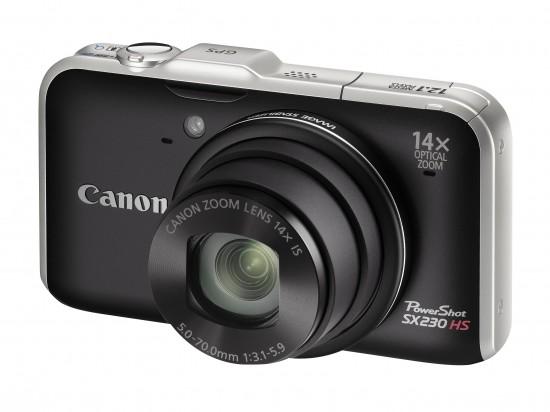 camere foto, Canon, Canon PowerShot SX230 HS, lansare