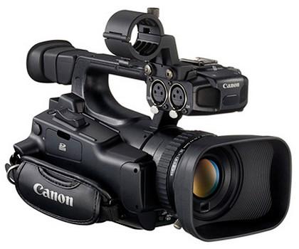 Camerele video Canon se aliniaza pentru Thunderbolt