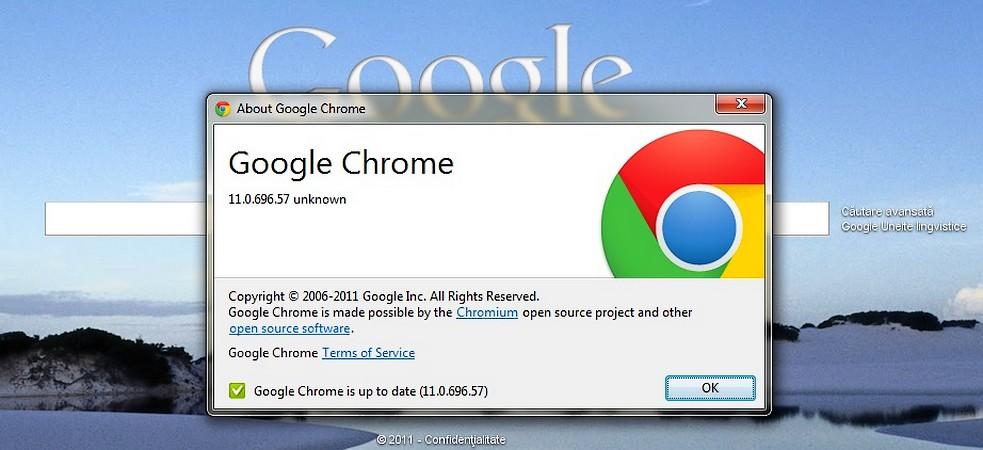 Si Chrome s-a mai maturizat un pic