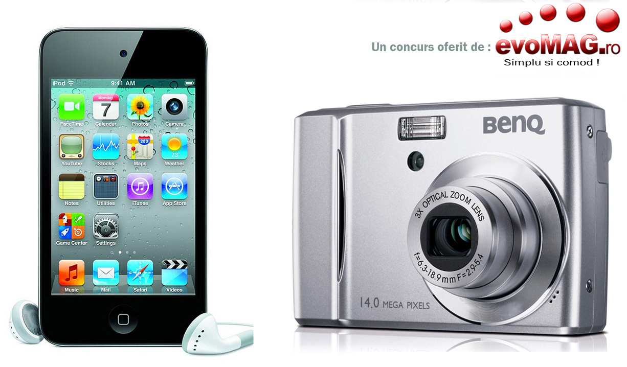 Benq C1450, iPod touch 8GB