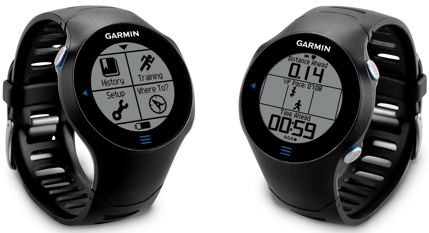 Garmin Forerunner are ceas GPS cu touchscreen