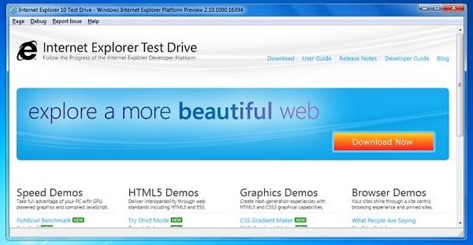 IE 10 preview, IE10 preview, ie10, internet explorer 10