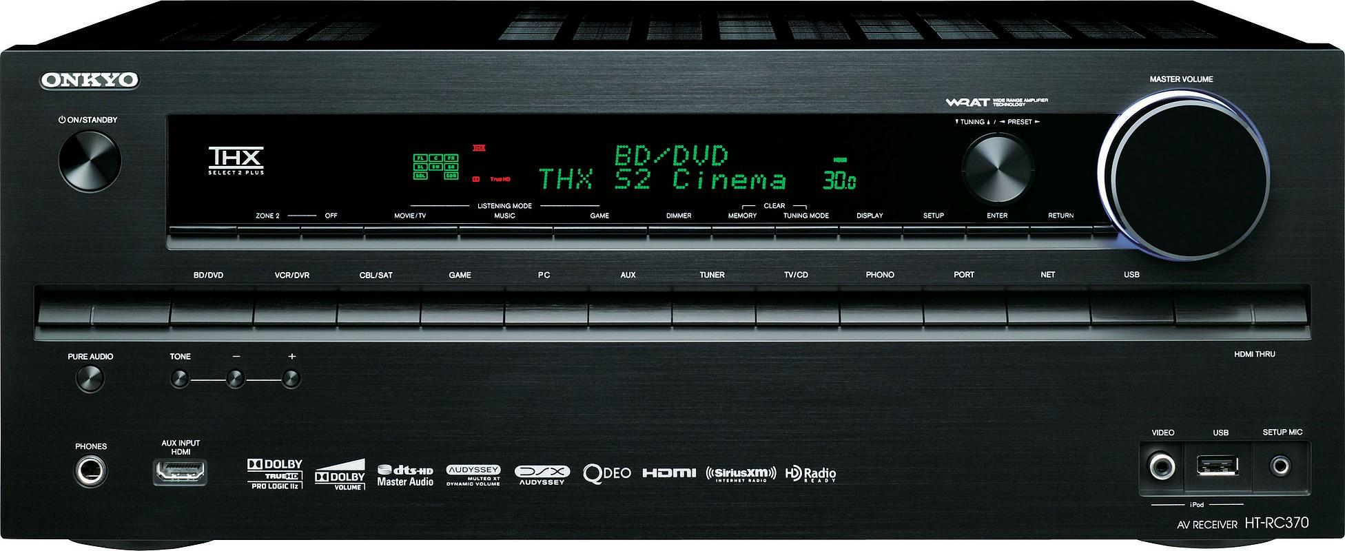 Onkyo HT-RC370, HT-RC370, receiver Onkyo