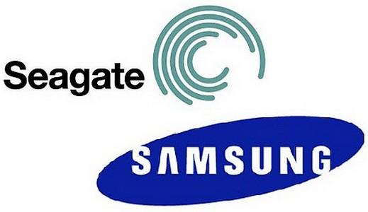 Samsung Seagate, Samsung, Seagate, Samsung logo, Seagate logo