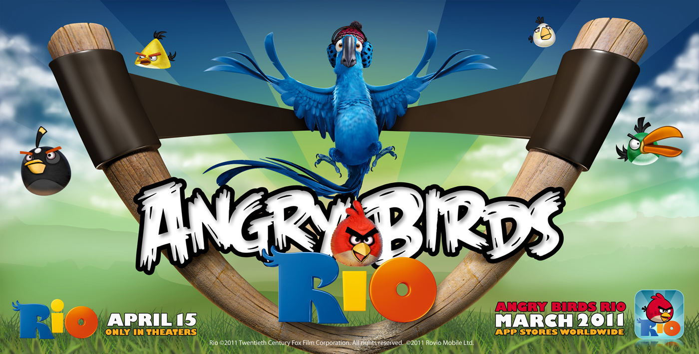 Angry Birds RIO – 10 Milioane de download-uri in 10 zile [+VIDEO]
