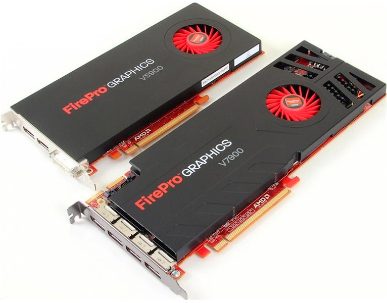 AMD are doua modele FirePro pentru profesionisti