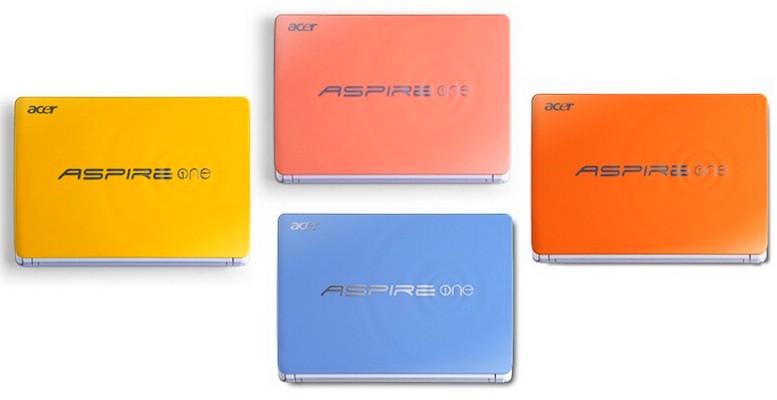 Mmmm… Acer ne tenteaza cu 4 Aspire One Happy