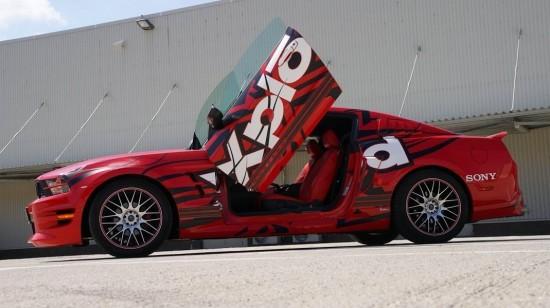 Ford Mustang Sony Xplod, Ford Mustang, Ford Mustang Xplod, Xplod