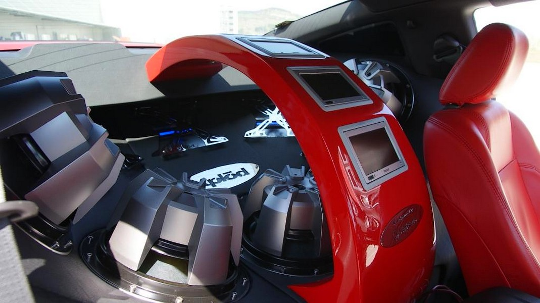 Ford Mustang Sony Xplod – Asa tuning de sunet, mai rar
