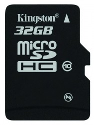 Kingston microSDHC10 32GB, Kingston microSDHC10, Kingston 32GB