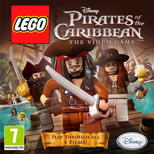 LEGO Pirates of the Caribbean 3DS, LEGO Pirates of the Caribbean