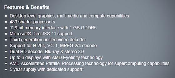 Radeon E6760 – Cred ca vom adopta AMD pentru netbook-uri