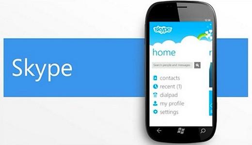 Skype Windows Phone 7, skype wp7, microsoft skype