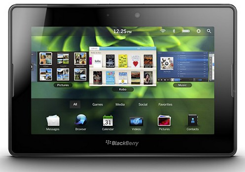 Blackberry PlayBook a imbratisat un update