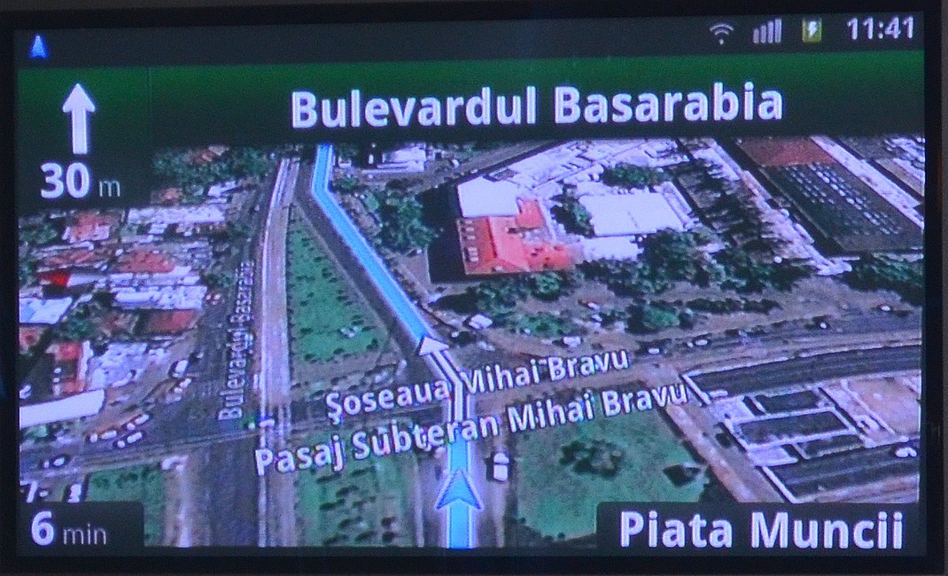 Google si-a lansat in Romania serviciul de navigare cu harti
