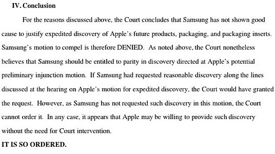 Samsung vs. Apple – Episodul N
