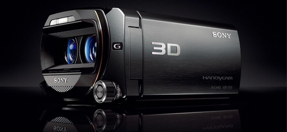 Sony a lansat HDR-TD10E, primul Handycam 3D