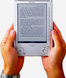Sony ebook reader, Sony ebook