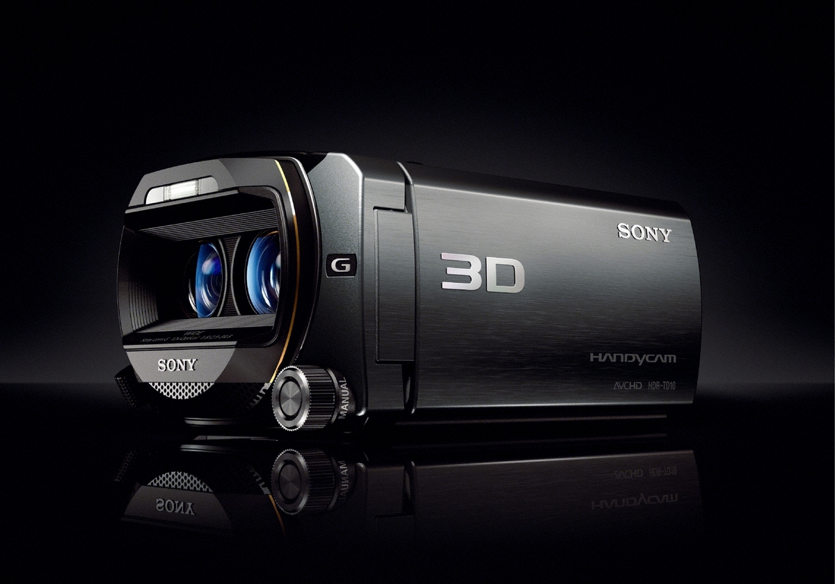 Sony Handycam HDR-TD10E Hands On