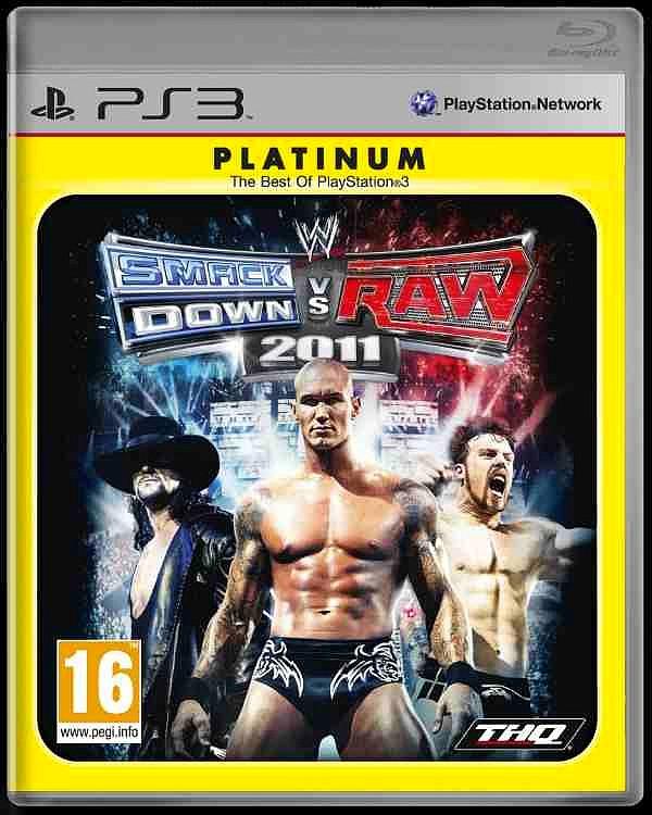 WWE SmackDown vs. Raw 2011 Platinum, WWE SmackDown vs. Raw 2011