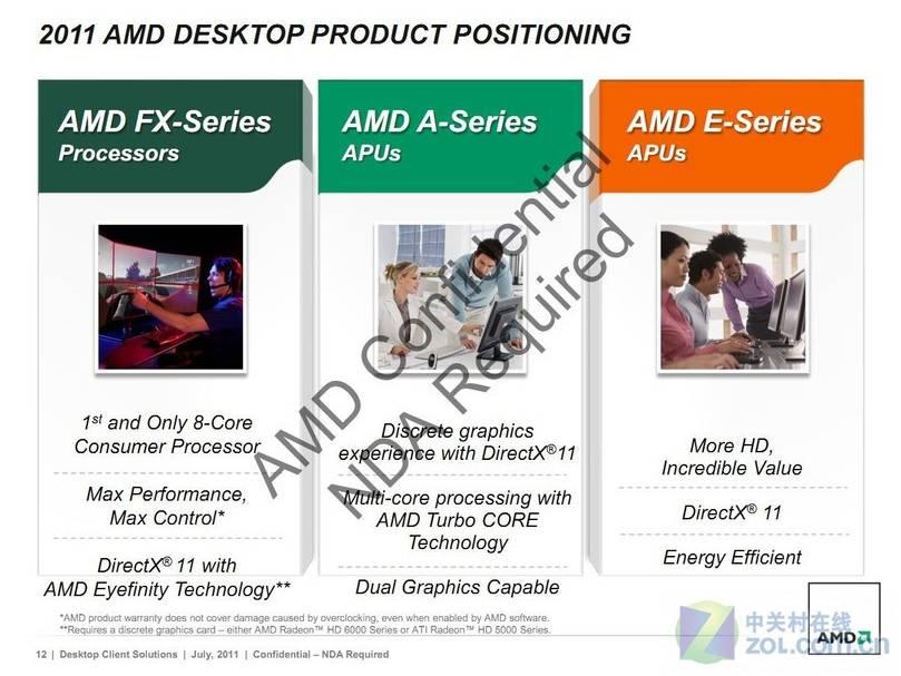 AMD vine cu 10 noi procesoare pentru desktop