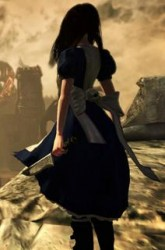 Alice Madness Returns Character art.