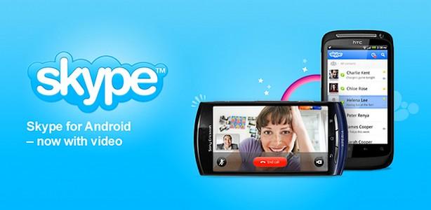 Skype cu video pentru cateva Androide [+VIDEO]