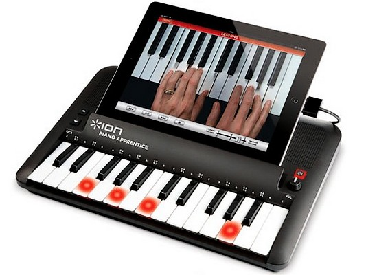 Piano Apprentice, Piano Apprentice ion audio, Piano Apprentice ipad
