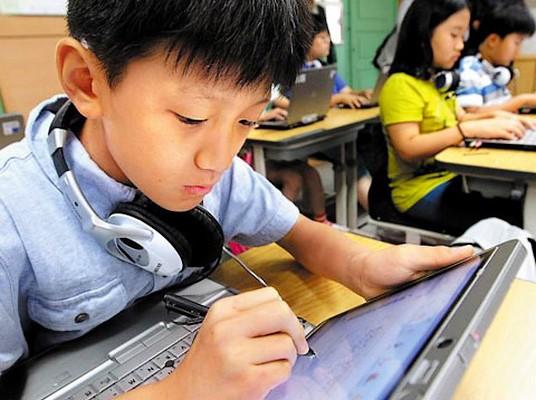 Coreea de Sud vrea sa faca educatie fara maculatura
