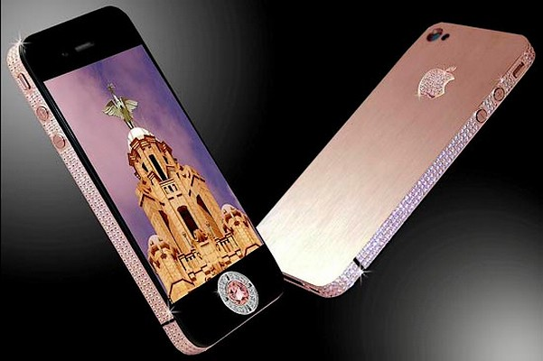 iphone 4 gold, iphone 4, iphone 4 diamond