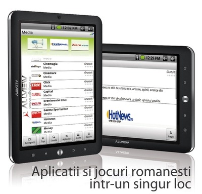 AllView lanseaza a doua generatie a tabletei romanesti AllDro