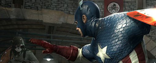 Captain America Super Soldier Suntet Si Grafica
