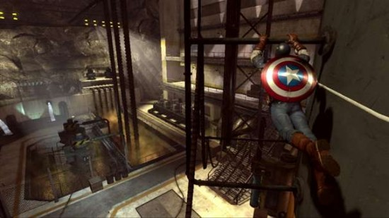 Captain America Super Soldier Arhitectura De Nivel