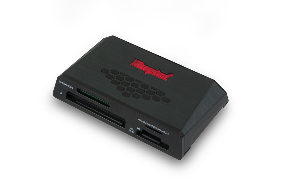 Kingston USB 3.0 Media Reader – Viteze de transfer ridicate