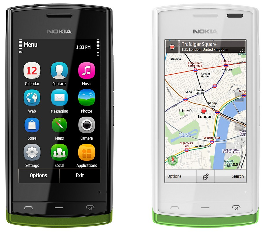Noul Nokia 500, un entry level la 150 euro [+VIDEO]