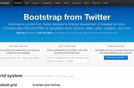 Twitter lanseaza Bootstrap pentru dezvoltarea de aplicatii web