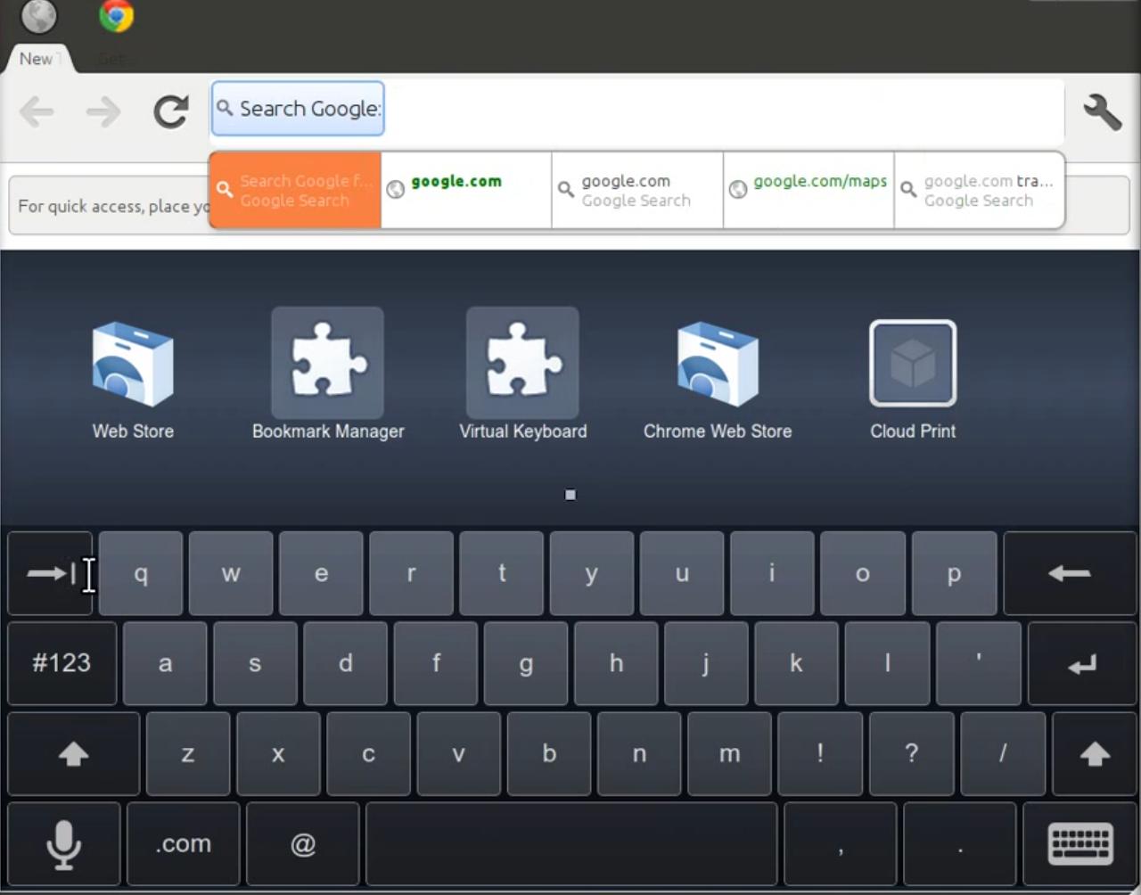 Chromium OS primeste interfata pentru tablete [+VIDEO]