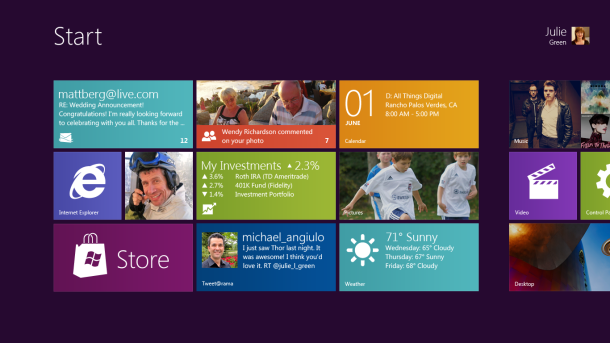 Windows 8 e pe drumul cel bun – 500.000 download-uri