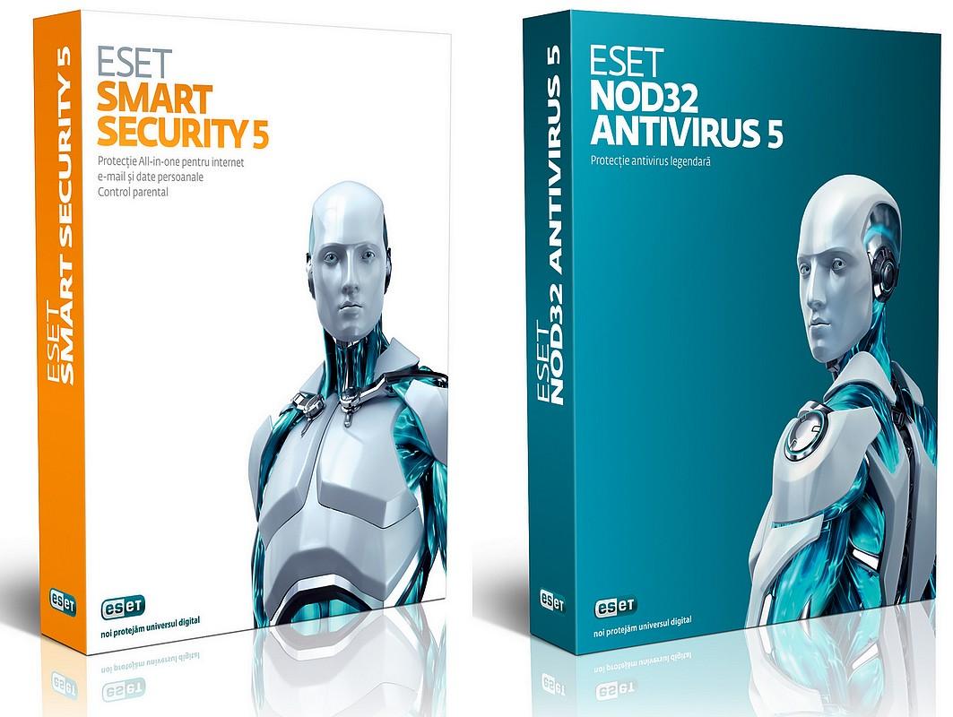 NOD32 Antivirus 5, Smart Security 5, ESET, eset NOD32 Antivirus, eset Smart Security