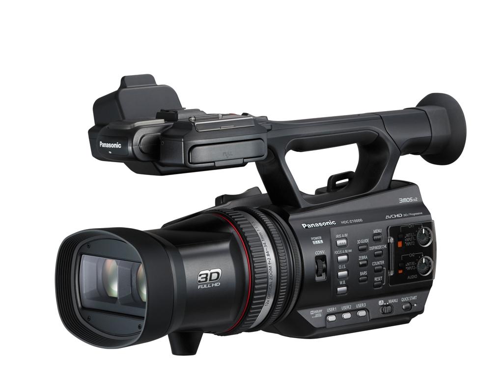 Panasonic anunta prima camera video compatibila AVCHD 3D/Progressive